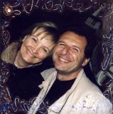 My wife Elena and me