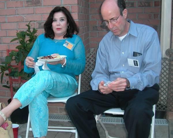 Suzanne Hague & Stanley Engelberg