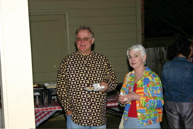 Bob Jolly and Lynn Preston