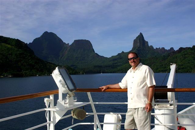 Mike in Tahiti