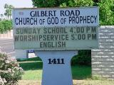 Gilbert RoadChurch of Godof Prophecy