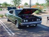 1966 green Charger