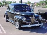 black Ford flathead