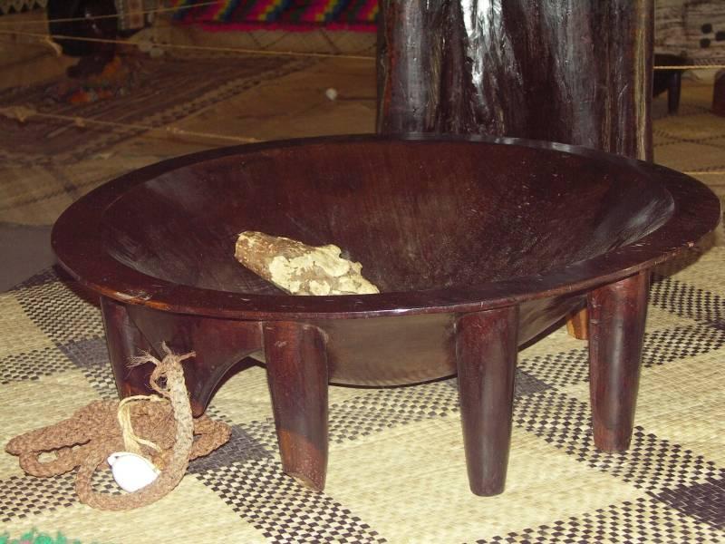 Ceremonial Kava vessel