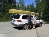 Our canoeing trip to Canadian border