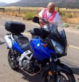 Bill and his V Strom