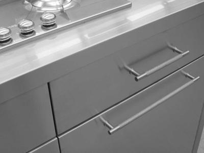 Mobili arredo acciaio inox morbegno for Arredo inox