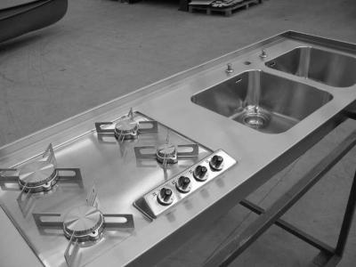 Lavelli cucina angolari su misura : (Morbegno)