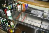 work station inox  su misura per cocktail
