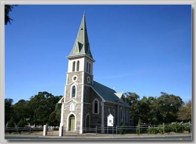 Lutheran church in Eden Valley