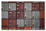 A lot of containers