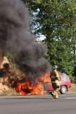 Route 8 Vehicle Fire (Shelton) 8/22/05