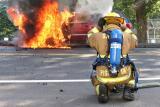 Howe Ave. Vehicle Fire (Shelton) 9/7/05