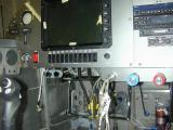 9-1-05 ran out of panel space-- had to put some things under dash like parking brake and alt air