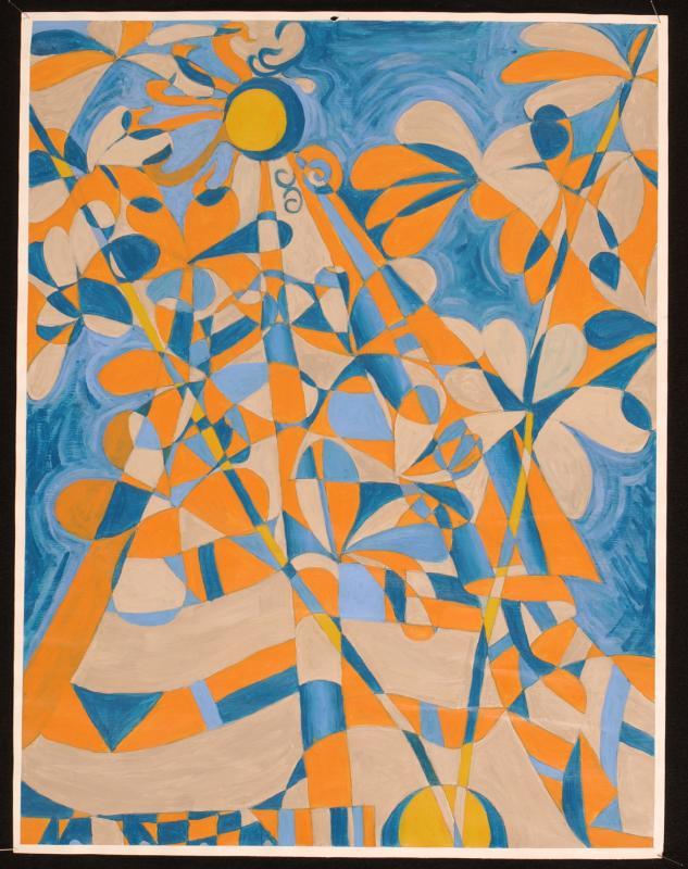 blue n orange