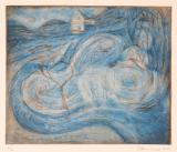 Helvitia (drypoint engraving) 11 x 14
