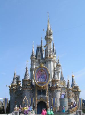 Cinderellas Castle, WDW, Florida