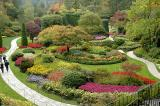 Fall Colors at Victoria's Butchart Gardens