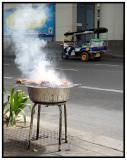 Cooking Chicken in Bangkok