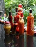 Vegetables under glass
