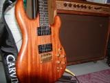 1996ish All Mahogany Carvin DC127 with active electronics