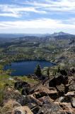 Lakes Basin towards Sierra Buttes