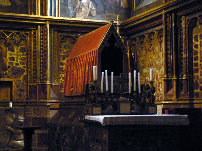 St. Wenceslaus (Good King Wenceslaus!) tomb