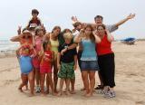 July 26 Beach family