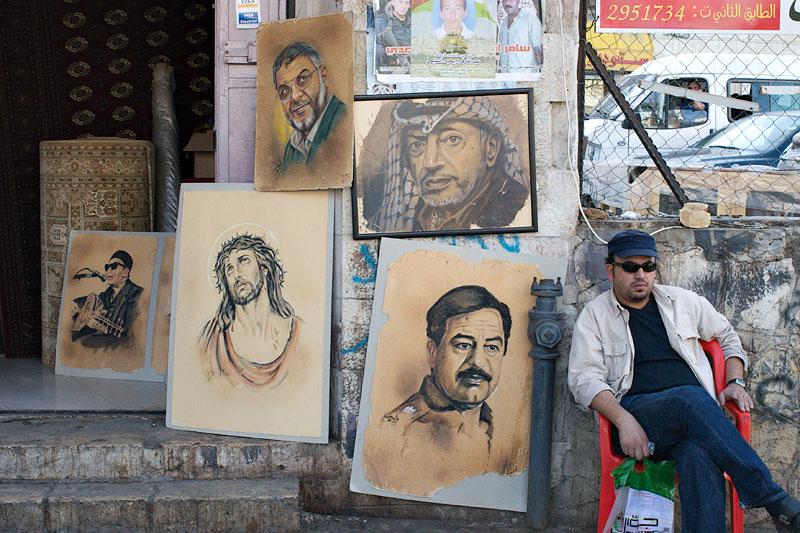 Jesus loves you Saddam - Ramallah