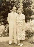 Dad's parents, Samuel and Miriam Bell
