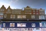 Houseboat reflection