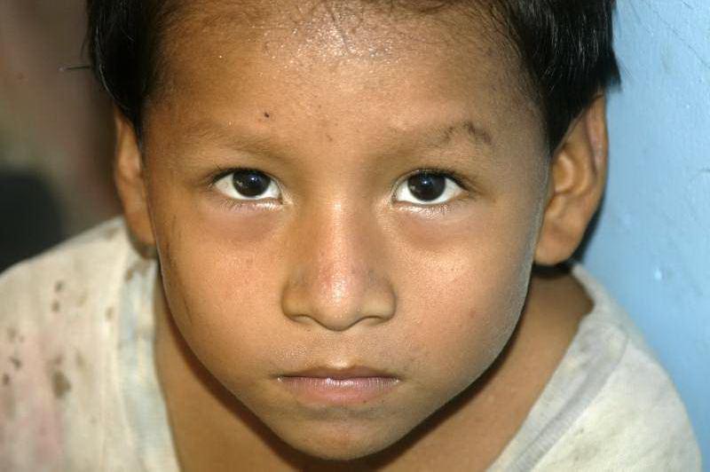 Amazon River Boy, Peru
