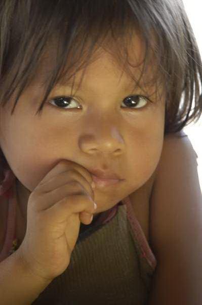 Amazon River Girl, Peru