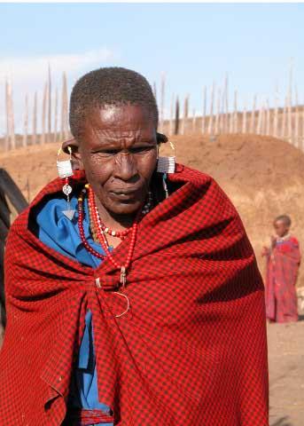 Maasai Chief, Tanzania