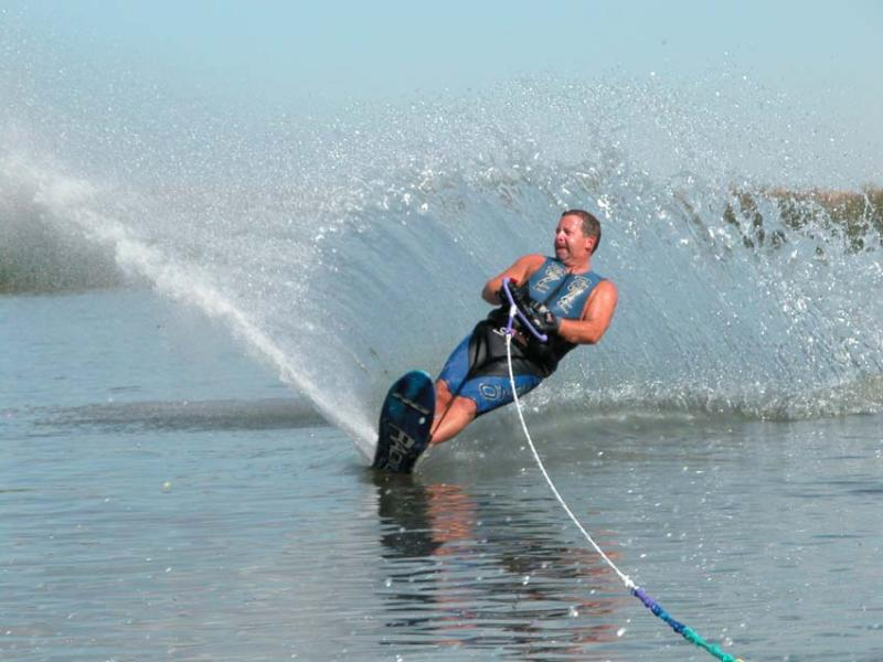 Man water skiing 1