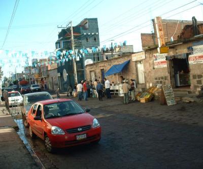 Calle Principal, Sta. María, Morelia