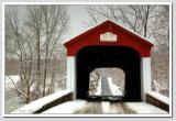Winter in the CountryVan Sant Covered Bridge