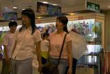 Nanjing Road Shoppers