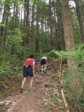 Bob Sokol & Tim Schultz start climbing Kill Bill Hill