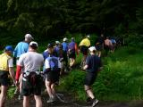 Bottleneck at the trail head