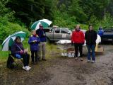 Iron Creek Aid StationMile 14.6