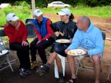 Annie, Tony P, Olga & Rob share a laugh