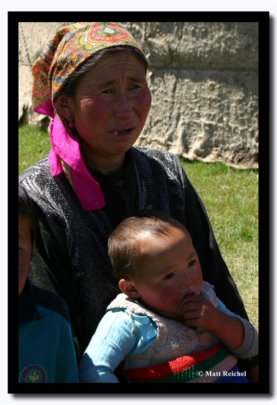 Mom with Babe, Bayan-Olgii Aimag