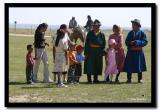 Mongol Family  at Naadam, Kharkhorin