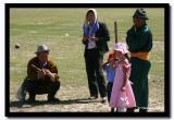 Watching Wresteling, Naadam, Kharkhorin