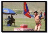 The Victor Eagle Dances around the Flag, Naadam, Kharkhorin