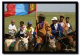 Riding with the Mongolian Flag, Naadam, Kharkhorin
