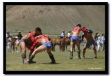 Two Bouts at Once, Naadam, Kharkhorin
