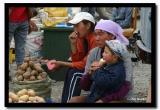 Selling Vegetables at the Bazaar, Olgii