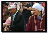 Women at the Bazaar, Olgii